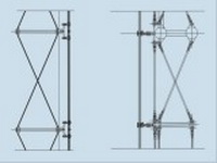 Cable Truss Glass Facade Supporting System Info